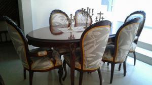 Juego de sala poltrona y comedor luis xv cali2 posot class for Comedor luis quince