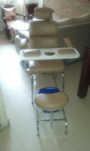 Mueble para Manicure Pedicure,silla Gra