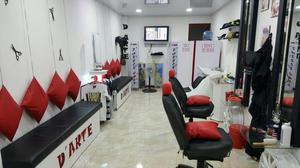 muebles y elementos de barberia