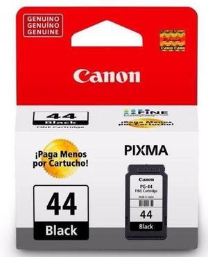 Cartucho Canon Negro Pg44 Original Orificio Sistema De Tinta