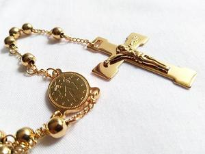 Rosarios Laminados En Oro 18k Dorados