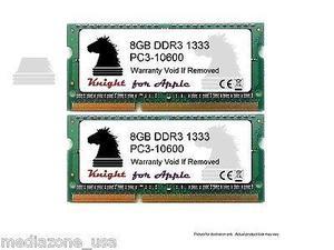 16gb (2x8gb) Ddr Mhz Sodimm Para Apple Macbook Pro