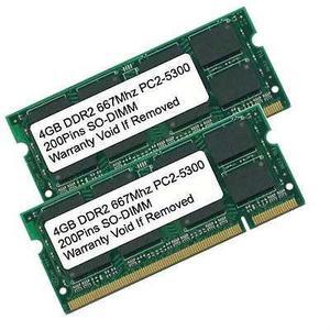 8 Gb Kit 2 X 4gb Ddr Mhz Pc Sodimm Memoria Para