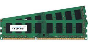 Crucial 8gb Kit 2 X 4gb Ddr Mhz Pc Escritorio