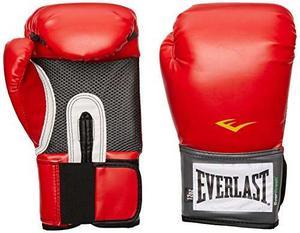 Guantes De Entrenamiento Everlast Pro Style (rojo, 16 Onzas)