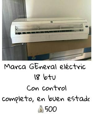 Marca General Eléctric 18 Btu con Cont