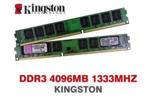 Memoria Ram Para Pc De Ecritorio Ddr3 4gb mhz