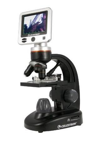 Microscopio Lcd Digital De Celestron  Ii (negro)