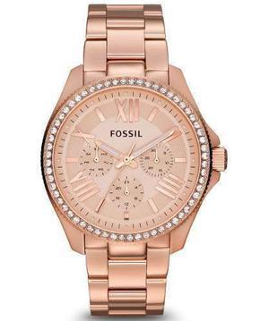 Reloj Fossil Am Acero Oro Rosa Mujer