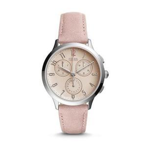 Reloj Fossil Ch Cuero Rosado Mujer