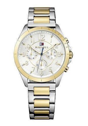 Reloj Tommy Hilfiger  Acero Plateado Y Dorado Mujer