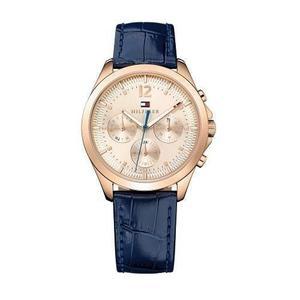 Reloj Tommy Hilfiger  Cuero Azul Mujer