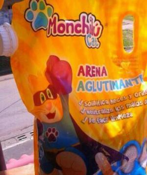 Arena para Gatos Monchilu