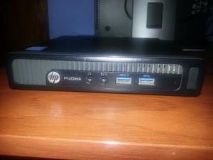 Cpu Mini Hp Prodesk 600 G1 Dm Core I5 4gen 8 De Ram Perfecta