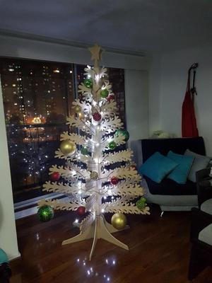 Arboles de navidad posot class - Arboles de navidad en madera ...