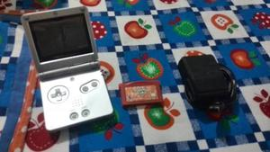 Game Boy Advance Sp + Cargador + Juego Pokemon Firered.