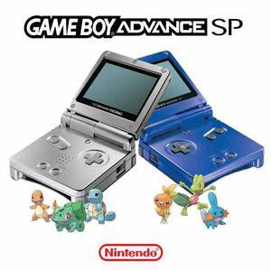 Gameboy Advance Sp. Color Plateado O Azul. Consola Game Boy