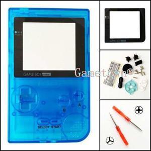 Gametown® Clear Light Blue Carcasa Shell Cubierta Piezas De