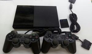 Play Station 2 + 2 Controles + Memory Card + Juegos