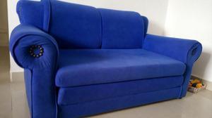 Sofá Cama Azul rey
