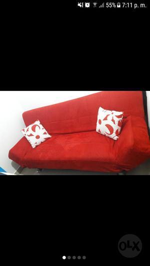 Sofa Cama Gamuzado