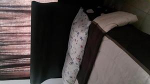 Vendo cama doble con colchón Spring