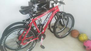 Bicicleta Todoterreno Gw en Aluminio con