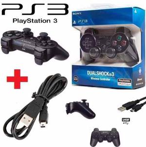 Control Ps3 Inalambrico + Cable De Carga Sony