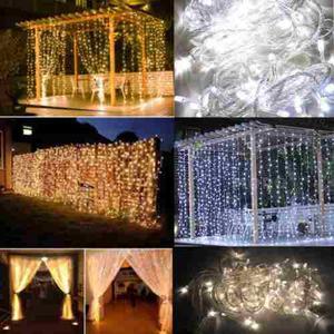 Hadas De Led Cortina Cadena Luces Para Decoración Fiesta De