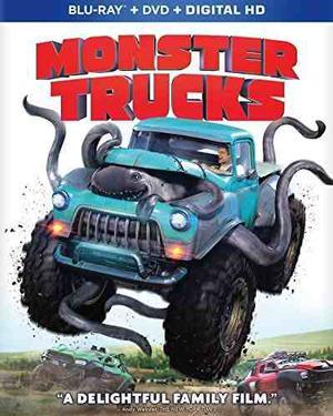 Monster Trucks [bd / Digital Hd Combo] [blu-ray]