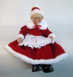 Muñeca De Mamá Noel De 41 Cm. Con Envío Gratis