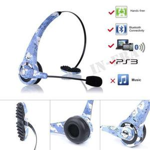 Para Ps3 Playstation 3 Bluetooth Wireless Gaming Auricular