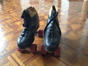 Patines de 4 ruedas, calzado 39