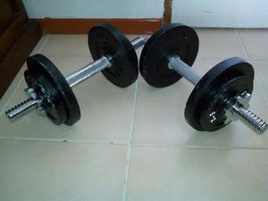 Juego pesas kg lbs con barra cm bogot posot class for Pesas y mancuernas