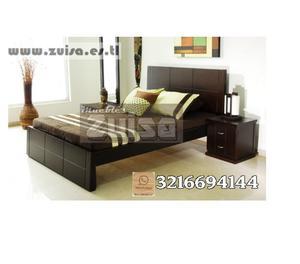 Promoción cama más nochero $