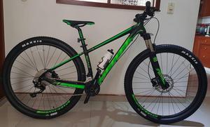 bicicleta scott scale verde rin 29 frenos hidraulicos