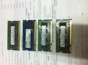 4 memorias RAM DE 1 GB 2RX16PC2