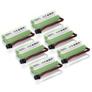 6 X Baterías De Teléfono De Su Casa Para Uniden Bt-