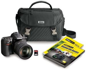 Camara Nikon D Dx-format Cmos Digital Slr Kit With 18
