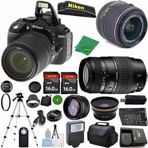 Camara Nikon D Mp Cmos Digital Slr, Nikkor