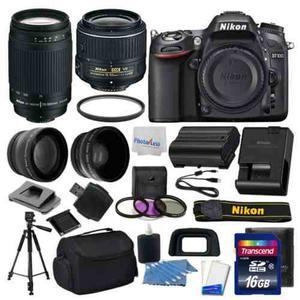 Cámara Réflex Digital Nikon D + Kit 4 Lentes: mm