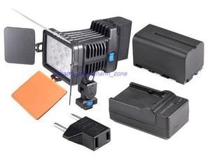 Luz Led 22w  Cámara Video Recargable Batería Estudio