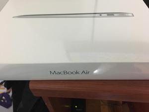 Macbook Air 13.3 Nuevo, 128Gb 8 de Ram, core i