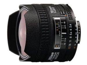 Nikon Af Fx Fisheye-nikkor Lente Fija De 16mm F / 2.8d Con