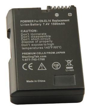 Stk En-el14 En-el14a Batería Para Nikon D, D,