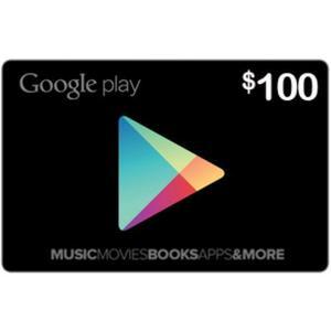 Tarjeta Google Play Gift Card 100 Usd