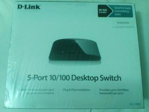 switch conexión Internet LAN 5 puertos nuevo marca NETGEAR