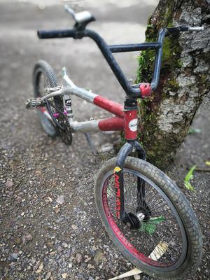 Bicicleta Bmx en Aluminio