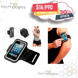 estuche para hacer ejercicio de brazo para celulares iphone