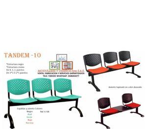venta e instalación de sillas tandem